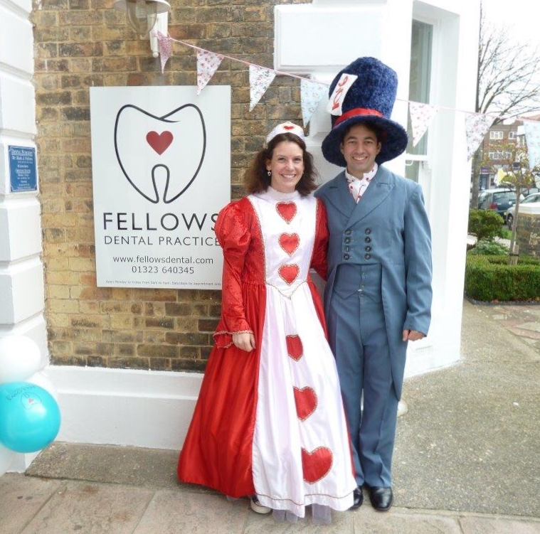 Fellows Dental Practice Open Day, Alice in Wonderland 150th Birthday